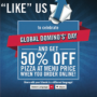 Global domino&#039;s day