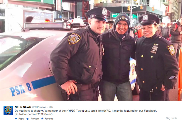 La campagne #myNYPD : le badbuzz prévisible