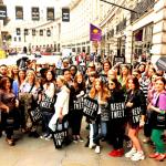 Regent tweet, blogueurs et twittos s'emparent de la rue Regent Street