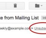 En un seul clic, désabonnez-vous des newsletters sur Gmail