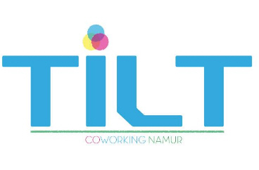 Coworking Namur ch. logo et Community Manager
