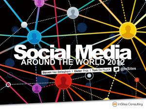 4,3 millions de Belges utilisent Facebook [Etude Social Media 2012]