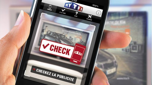 TF1 lance le check-in publicitaire !